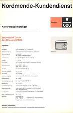 Nordmende Service Manual für Mambino 5.606