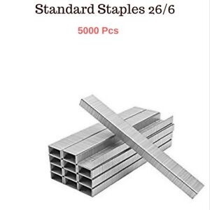 5000 PCs - 26/6 - Standard Heavy Duty Staples - School and Office need Free Post