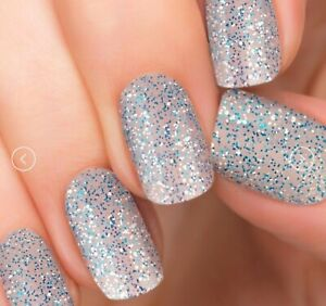 [incoco] Real Nail Polish Applique 16 Double-Ended Strips #Ice Queen