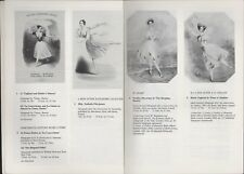 More details for ballet & theatre material & music-hall. sotheby's. 1981. auction art    hl4.592