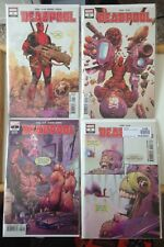 Deadpool 1A 2A First Printing And 1 2 Second Printing Lot 2018 Nm