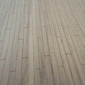 Dollhouse Miniature Real Wood White Oak Flooring
