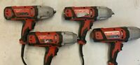 Milwaukee-9070-20 1/2 In. Impact Wrench with Rocker Switch - Lot of 4 - Broken