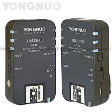 Yongnuo YN-622N II Wirelss Flash Trigger HSS TTL for Nikon D300 D300s D80 D60