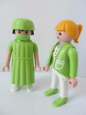 Playmobil Surgeon & Lady Doctor or vet NEW hospital/ animal clinic figures
