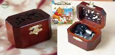 ♫ Winnie The Pooh  ♫  OCTAGON WOODEN MUSIC BOX