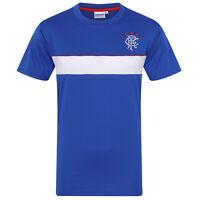 Rangers FC Official Football Gift Mens Poly Training Kit T-Shirt