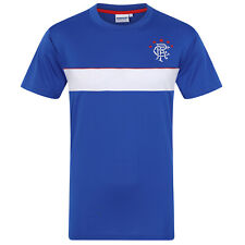 Rangers FC Official Football Gift Mens Poly Training Kit T-Shirt