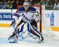 Henrik Lundqvist Autographed Signed 8x10 Photo ( Rangers ) REPRINT