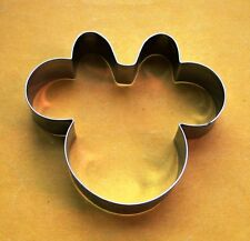 Minnie Mouse Cookie Cutter Party Pastry Fondant Biscuit Candy Baking Steel Mold