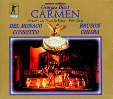 BIZET - Carmen (GA) Peter Maag/Mario del Monaco/Bruson/Cossotto[3 CDs]*NEU*10031