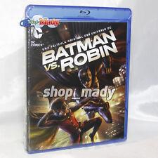 Batman vs Robin Blu-ray Región A Audio: Español (latino)
