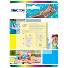 Bestway Heavy Duty Adhesive Pool Inflatable Repair Patches - Pack of 10