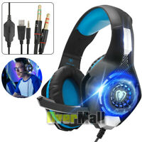 Gaming Headset for Xbox One/PS4/PC/Laptop/Tablet with Mic Pro Over Ear Headphone