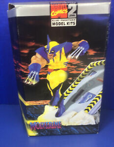Wolverine X-MEN Marvel Comics Model Kit Level 2 COMIC BOOK SUPERHERO