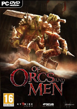 Software - PC Games-Of Orcs And Men  GAME NEUF