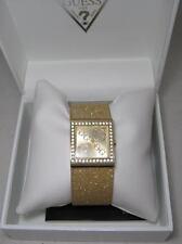 GUESS G Mix Montre Watch Femme Dore Gold Swarovski Strass Neuf New W80019L1