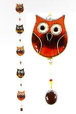 Owl suncatcher garden mobile, window or ceiling decor FREE SHIPPING