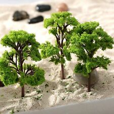 10pcs 12cm Banyan Trees 3d Model Garden Wargame Railway Buildings Scenery Layout