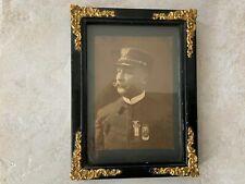 "New listing Antique framed Civil War G. A. R. Photo Signed In Back ""Francis A. Lederly� 1901"