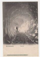 Switzerland, Grindelwald, Eisgrotte Postcard #2, B210