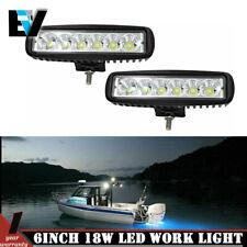 6inch LED Light Bar Spot Beam FOR Off road Truck Boat Ford SUV 12V24V