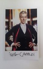 """DOCTOR WHO - Male Actor Peter Capaldi 6""""X4"""" Autograph Reprint Photo Colour Pic"""