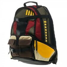 OFFICIALLY LICENSED STAR WARS MANDALORIANS Boba Fett BACKPACK SCHOOL BAG