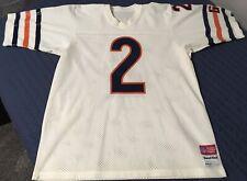 Rare Vintage 1986 Doug Flutie Rookie Chicago Bears Sand Knit Jersey L
