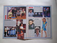 Kylie Minogue Chapman Feron Kim Wilde Rambo Modern Talking clippings France