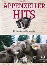 Steirische Harmonika Noten : Appenzeller Hits - mit CD - GRIFFSCHRIFT