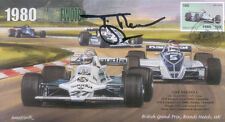 1980c WILLIAMS COSWORTH FW07B BRANDS HATCH F1 cover signed TIFF NEEDELL