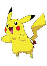 Pokemon  Iron On Tshirt Transfer Pikachu