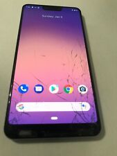 Google Pixel 3 Xl 64Gb Verizon Wireless 4G Lte clear white , Crk digitiz H6 #12