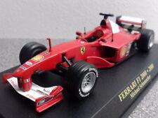 Coches de Fórmula 1 de automodelismo y aeromodelismo Michael Schumacher escala 1:43