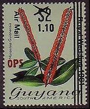 Flowers Mint Never Hinged/MNH Guyanese Stamps