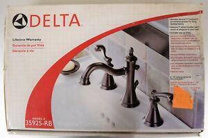 Delta Vessona 25925-RB Two Handle Widespead Lavatory Faucet, Venetian Bronze