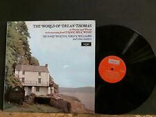 WORLD OF DYLAN THOMAS  Various  LP  Richard Burton  Emlyn Williams   NEAR-MINT !
