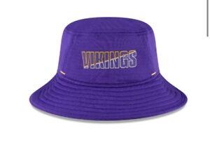 Minnesota Vikings NFL New Era Men's Purple '20 Training Camp Bucket Hat Cap OSFM