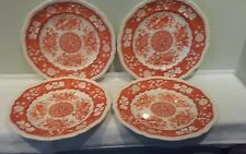 A Set of Four Spode Copeland Madrid Luncheon Plates