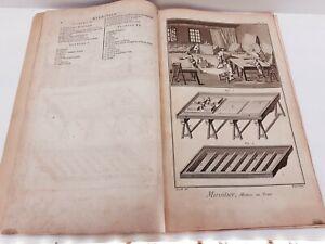 Superbe RECUEIL complet 8 pl. MIROITIER- ENCYCLOPEDIE Diderot & D'Alembert 1751
