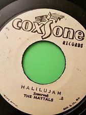 Coxsone records HALLELUJAH  / GET TOGETHER THE MAYTALS  / CLANCY ECCLES
