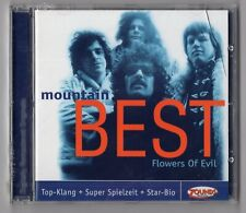 Mountain CD BEST ( FLOWERS OF EVIL) ©2000 Zounds Music - NEU OVP / NEW SEALED