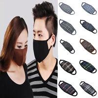 2pcs New Unisex Men Women Cycling Anti-Dust Cotton Mouth Face Mask Respirator