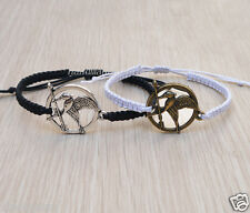 Unique Couples Bracelets Hunger Games The Mocking Jay Personalized jewelry