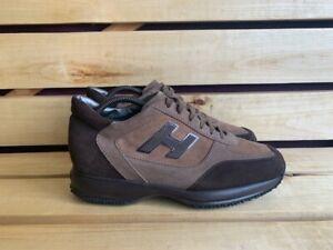 HOGAN Brown Sneakers Men Shoes Sz.  UK 7 US 8 EU 41