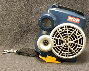 Ryobi 18V P740 FM Radio with Auxiliary Input Construction Radio ONLY No Battery