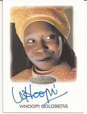 Whoopi Goldberg as Guinan Autograph Card - Women of Star Trek 2017 Trading Cards