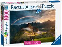 15158 Ravensburger Rainbow over Machu Picchu, Peru Jigsaw Puzzle 1000 Pieces
