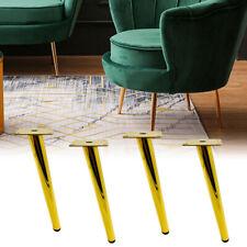 4pcs Furniture Leg Oblique Tapered Sofa Table Replacement Parts Anti Slip Iron